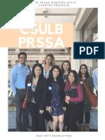 PRSSA Newsletter Spring '17