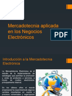 Mercadotecnia Aplicada en Los Negocios Electrónicos