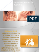 Kinetoterapia Deficientelor Auditive..
