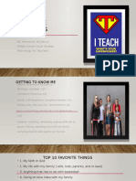 tech for teachers introduction powerpoint