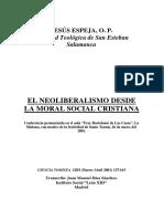 Neoliberalismo Desde La Moral Cristiana