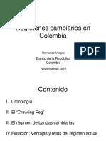Regimen Cambiario de Colombia