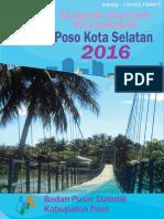 Statistik Daerah Kecamatan Poso Kota Selatan 2016