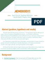 help nemo  osmosis inquiry