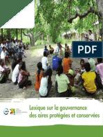 Lexique Sur La Gouvernance Des Aires Protegees Et Conservees (2)