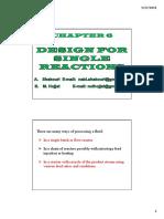 Chapter 6 Slidesfor Reactors
