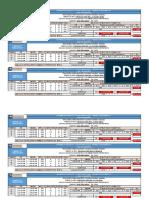 Cálculo de FHP y VHD