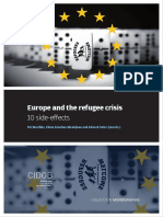 Europe and the Refugee Crisis 10 Side-effects Pol Morillas, Elena Sanchez-montijano and Eduard Soler (Coords.)