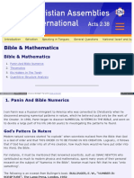 Www Cai Org Faq Bible Mathematics