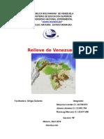 El Relieve Venezolano