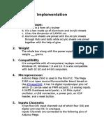 Mini PLC Report