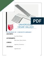 INFORME DE INVESTIGACION COMPLETO DE ESCALERAS DE CONCRETO ARMADO