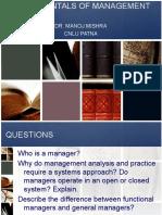 Fundamentals of Management2.1
