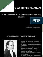 Unidad 6 La Guerra de la Triple Alianza - María Camila Muñoz