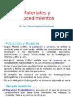 04- Materiales y Procedimientos