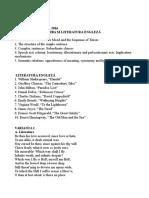 Subiecte licenta engleza