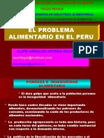 CLASE 1 El Problema Aliment. en El Perú ( 1 Sesión )
