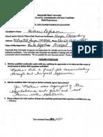 signed fieldwork