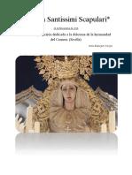 Regina Santissimi Scapulari Portada