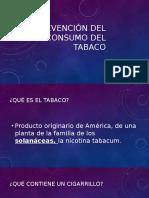 Prevención Del Consumo Del Tabaco