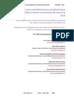 Relación Entre Asertividad Sexual y Autoeficacia Para Diagnosticar VIH