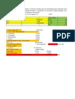 Cálculos de Metrados en Exel
