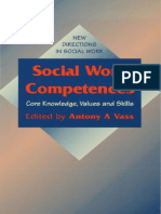 Anthony Andreas Vass, Barbara Harrison Social Work Competences Core Knowledge, Values and Skills