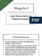 BAHAN 8 Audit Sistem Informasi Berbasis Komputer