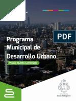Programa  Municipal de Desarrollo Urbano 2017