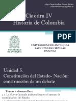 Unidad 5 Constitución del Estado- Nación (Avances)