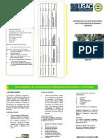 Trifoliar Para Ingreso a Veterinaria USAC 2018