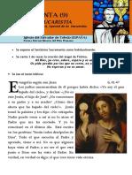Hora Santa Con San Pedro Julián Eymard. La Fe en La Eucaristía. (9)