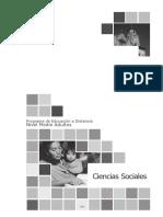 PED - Ciencias Sociales Nivel Medio Adultos