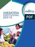 Memoria Diaconia 2015