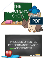 Teachers Show - Product and Performance Analysis