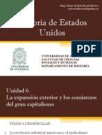 Unidad 6 Los Comienzos del Gran Capitalismo - Historia de EEUU