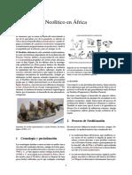 Neolítico en África
