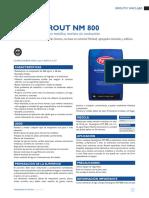 Festergrout NM 800