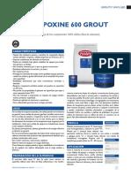 Fester Epoxine 600 Grout