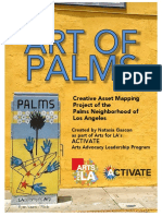 Art Of Palms - Creative Asset Mapping Project of the Palms Neighborhood of Los Angeles
