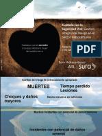 Cuidado Con La Seguridad Vial Gesión Del Riesgo Sector Hidrocarburos CEPA ARL Sura