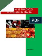 i Costumi Et Le Tradizione Popolari Italiane Ksdmkmd