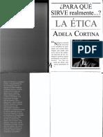 266687316 Adela Cortina Para Que Sirve Realmente La Etica PDF