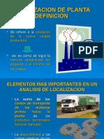 Localizacion de Planta Unidad Siete