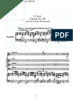 BWV68 - Also hat Gott die Welt geliebt