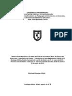 Informe de Administracion