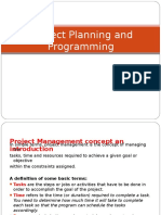 (Lecture 1)Introduction to Project Programming Using Ms Project Software