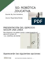 Ejercicio 15- Robótica Educativa