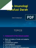Sesi 1 - Dr.umi - Imunologi Transfusi Darah