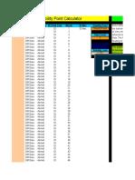 Stability Point Calculator Copyright 2007 Lipke